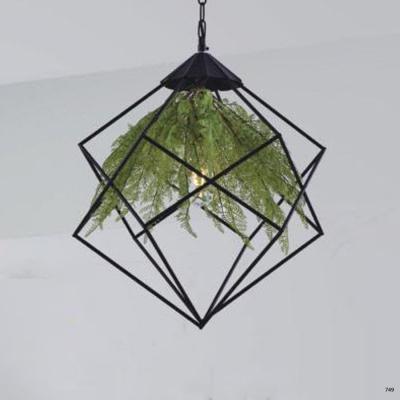 Đèn thả nghệ thuật hình chậu hoa 1 bóng led kiểu dáng hiện đại DY115