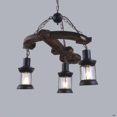 Đèn thả nghệ thuật hình mỏ neo 3 đèn DY060-3