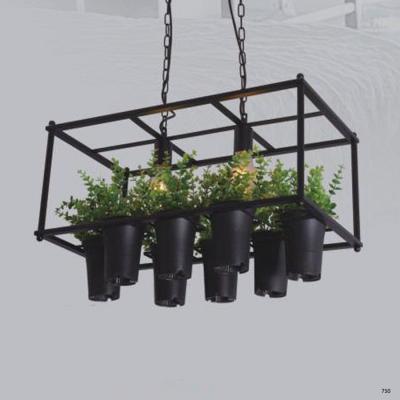 Đèn thả nghệ thuật hình nhiều chậu hoa nhỏ bóng led giá rẻ DY116-2