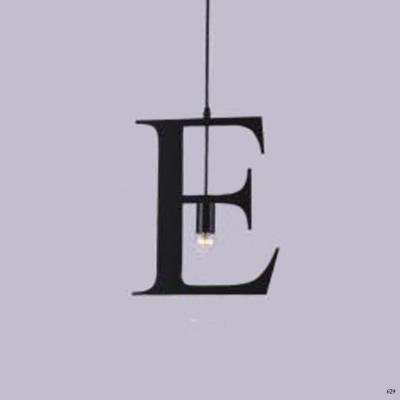 Đèn thả nghệ thuật kiểu chữ E 1 bóng đèn giá rẻ nhất DY2206