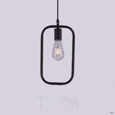 Đèn thả nghệ thuật kiểu chữ nhật 1 bóng đèn giá rẻ nhất DY2215/E