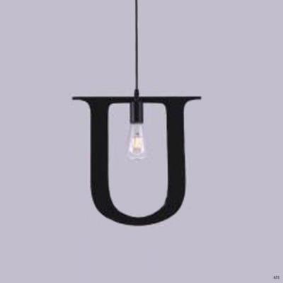 Đèn thả nghệ thuật kiểu chữ U 1 bóng đèn giá rẻ nhất DY2203
