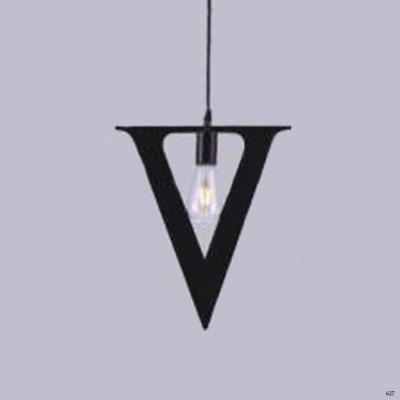 Đèn thả nghệ thuật kiểu chữ V 1 bóng đèn giá rẻ nhất DY2201