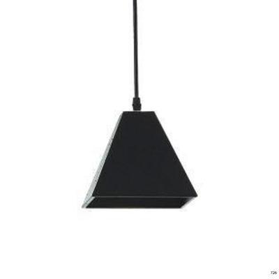 Đèn thả nghệ thuật kiểu dáng đơn giản búp màu đen lá 1 đèn led DTKD310-4