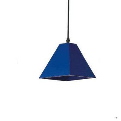 Đèn thả nghệ thuật kiểu dáng đơn giản búp màu xanh dương 1 đèn led DTKD310-4