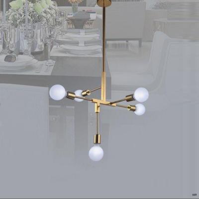 Đèn thả nghệ thuật kiểu dáng đơn giản dễ ứng dụng DY075-5