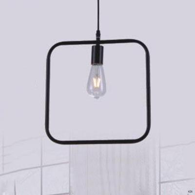 Đèn thả nghệ thuật kiểu hình vuông 1 bóng đèn giá rẻ nhất DY2215/C