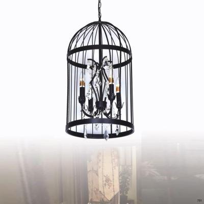 Đèn thả nghệ thuật kiểu lồng chim trang trí mẫu đẹp kiểu lạ mắt DTK0317