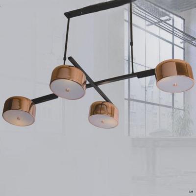 Đèn thả nghệ thuật trang trí kiểu siêu đẹp 4 đèn led DY097-4