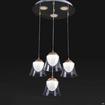 Đèn thả pha lê 4 dây hình búp giá rẻ nhất 9809/4