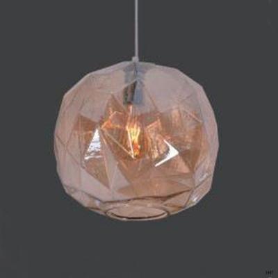 Đèn thả quả cầu pha lê lấp lánh 1 bóng led DT09