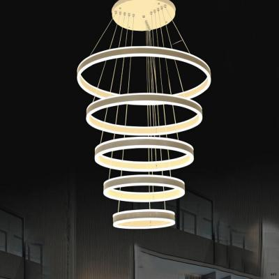 Đèn thả thông tầng cao cấp 5 tầng nhỏ dần xuống phía dưới 1022-5