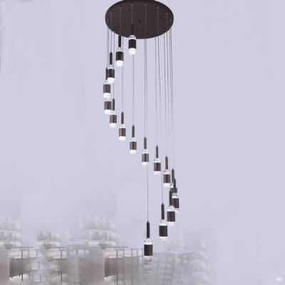 Đèn thả thông tầng cao cấp kiểu nhiều dây DY2006/16