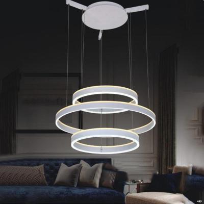 Đèn thả thông tầng hiện đại phù hợp không gian nhà hàng khách sạn DKM1009/3