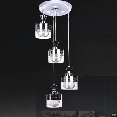 Đèn thả thuỷ tinh cao cấp trang trí phòng ăn DCT-H5102-4