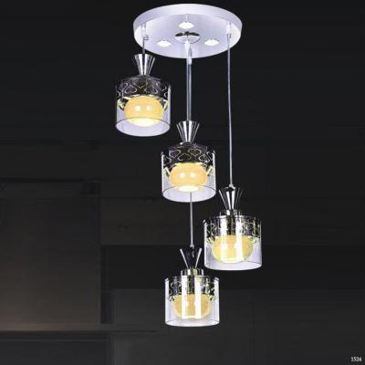 Đèn thả thuỷ tinh cao cấp DCT-H5098-4