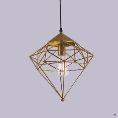 Đèn thả trần nghệ thuật 1 bóng hiện đại hàng chính hãng DY2213/A