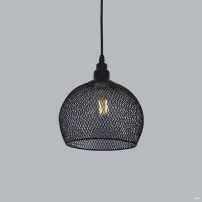Đèn thả trần nghệ thuật chao lưới 1 bóng hiện đại dễ ứng dụng DTK3695/1