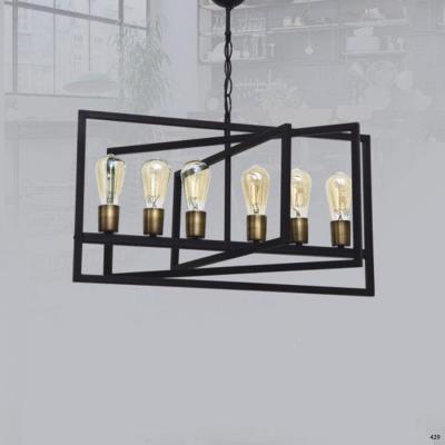 Đèn thả trần nghệ thuật kiểu dáng hiện đại hàng chính hãng DTK0010-6