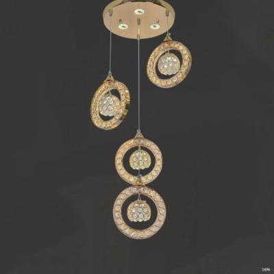 Đèn thả trang trí cao cấp phối pha lê lấp lánh giá rẻ 8656