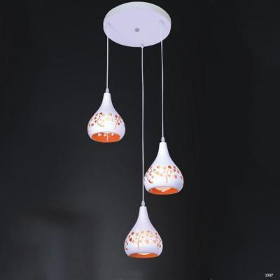 Đèn thả trang trí hoạ tiết trái tim TS-152601-3