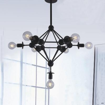 Đèn thả trang trí nghệ thuật 9 bóng đèn kiểu dáng sang trọng bắt mắt DY084-7