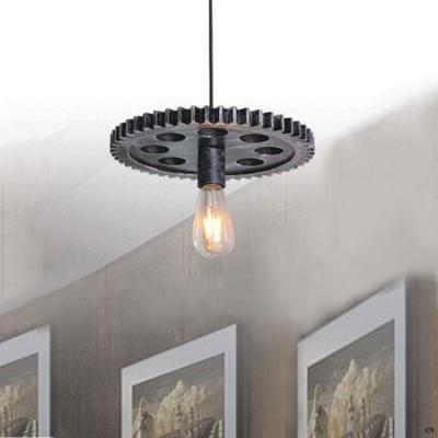 Đèn thả trang trí nghệ thuật hình bánh răng 1 bóng đèn DTKWX-109