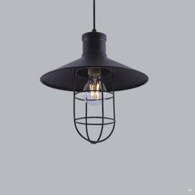 Đèn thả trang trí nghệ thuật kiểu dáng đơn giản 1 bóng led phù hợp nhiều không gian khác nhau DTKD414