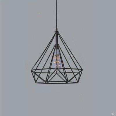 Đèn thả trang trí nghệ thuật mẫu viên kim cương đơn giản DTKD371/380