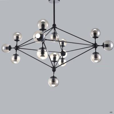 Đèn thả trang trí nghệ thuật nhiều bóng đèn kiểu dáng sang trọng bắt mắt DTKMD15