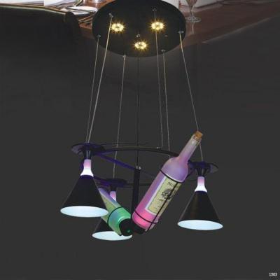 Đèn thả trang trí quầy bar hình ly và chai rượu DCT-652A-5