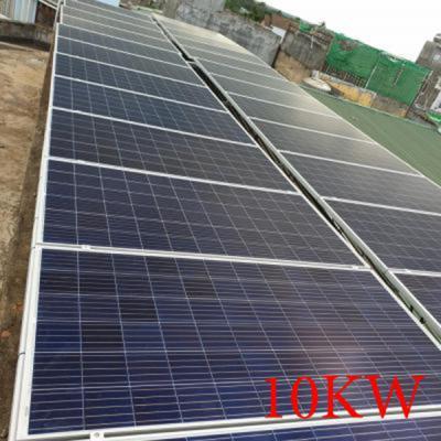 Lắp đặt hệ thống pin năng lượng mặt trời 10kw