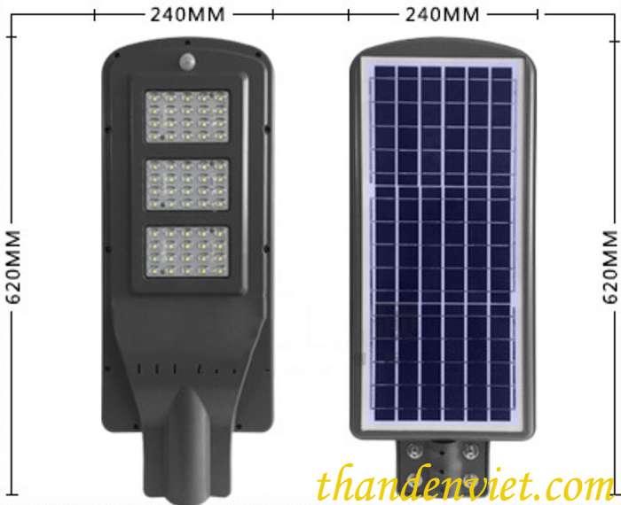 Đèn đường năng lượng mặt trời DC 60W