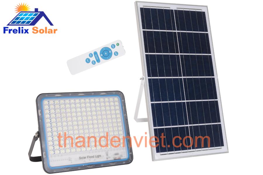 Đèn pha năng lượng mặt trời sử dụng trong nhà Frelix Solar Light VK600-D 200W