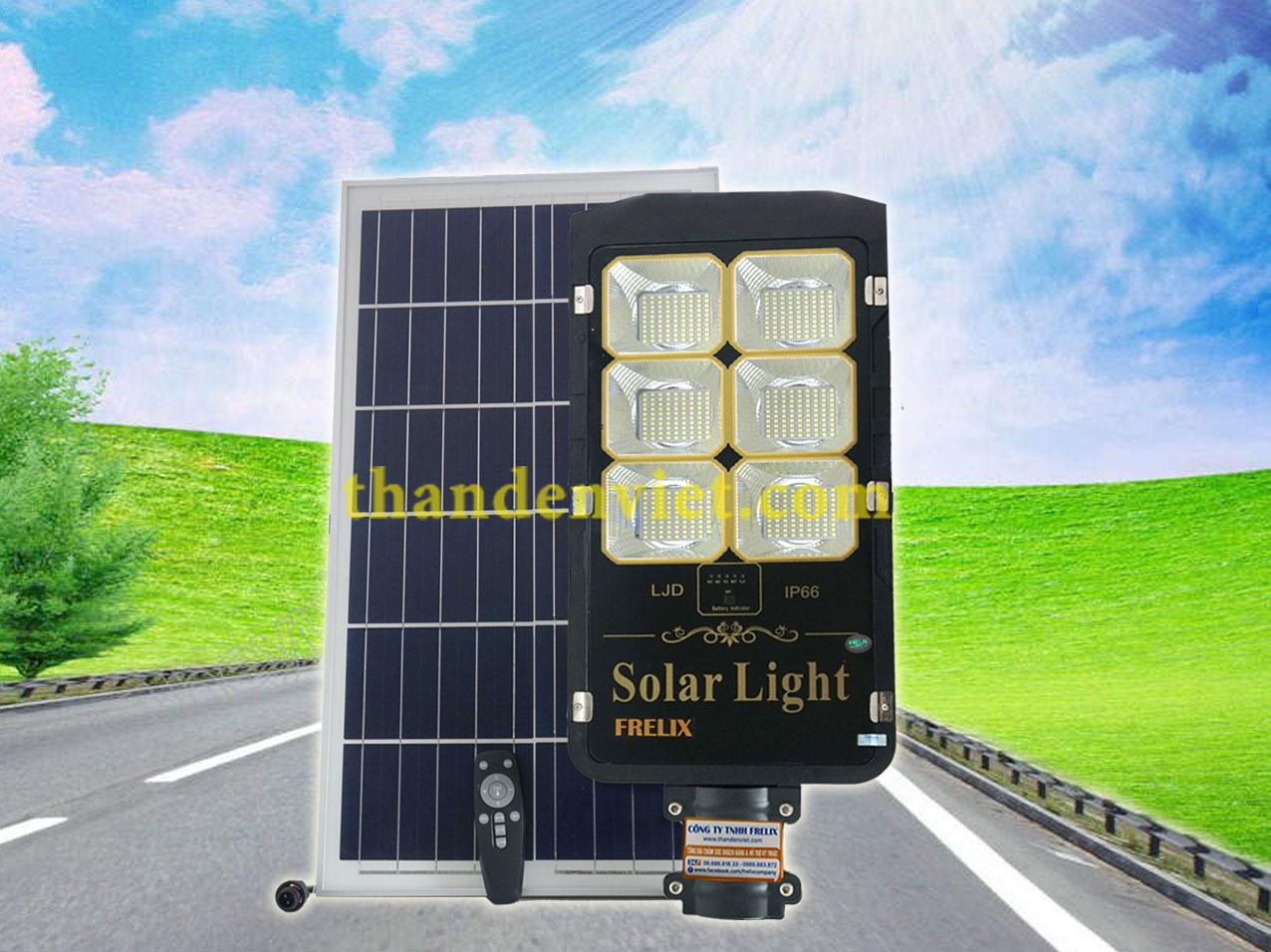 Đèn đường năng lượng mặt trời Frelix Solar Light LJD 300W
