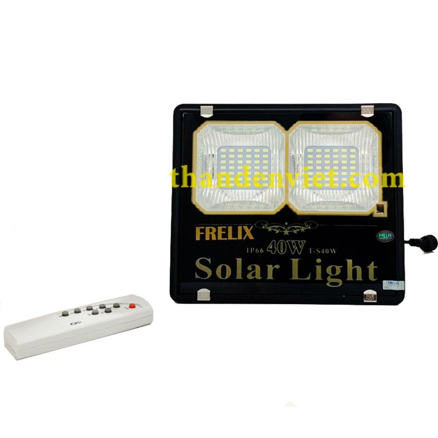 Đèn năng lượng mặt trời FRELIX Solar Light 40W 2 khoang led